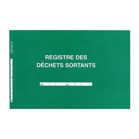 REGISTRE DES DECHETS SORTANTS 210X297  96P