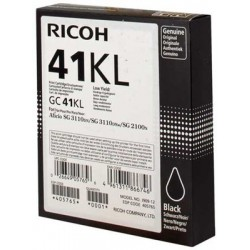 405765 CART RICOH  ENCRE GEL RICOH GC-41KL SG2100N3110DN3110DNW NOIR  600 PAGES
