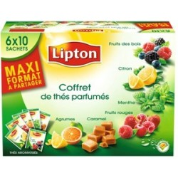 COFFRET LIPTON 60 THE PARFUME