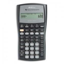 Calculatrice financière TEXAS INSTRUMENTS 10 chiffres, memoire 10mo, comptabilité gestion BAIIPLUS