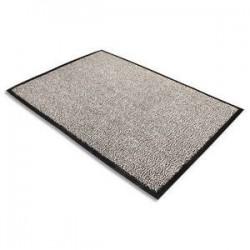 Tapis daccueil Advantage gris en polypropylène 60 x 90 cm épaisseur 10 mm