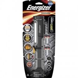 Balladeuse noire en ABS 2 intensités lumineuses 50 et 350 lumens 180 dégrès 4 piles AA fournies