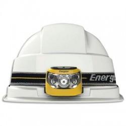 Lampe frontale 5 leds noire adaptable sur casques autonomie 25h portée 80m 3 types dattaches