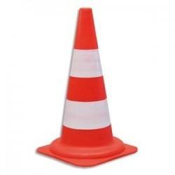 CONES PP STANDARD H50CM O CSC501Cône standard pour voies privées Diamètre 29, hauteur 49 cm coloris orange