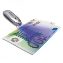 Detecteur faux billets ultra compact double vérification 10x10 cm