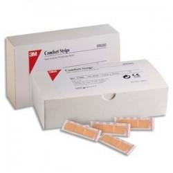 Boîte de 100 pansements microaéré Comfort 1,9x7,6 cm