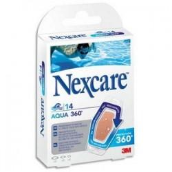 Boîte de 14 pansements en polyuréthane Aqua, 3 tailles