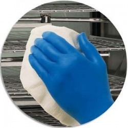 Boite 200 Gant Kleenguard actic Bleu nitrile taille M