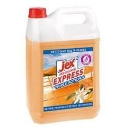 Express Bidon de 5L Nettoyant multiusages triple action plus parfum douceur dorient