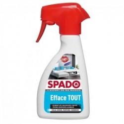 Spray 250 ml Efface tout colle, encre, peinture et camboui pour toutes surfaces lavables