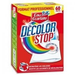 Boîte de 60 lingettes décolorstop Professionnel