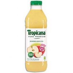 Bouteille plastique d1 litre de jus de Pomme