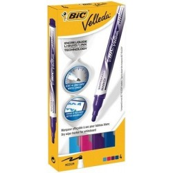 ETUI DE 4 LIQUID INK POCKET COUL FUN