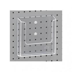 Portebrochure plastique A5 + clips pour TOR216625