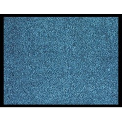 TAPIS 90x150 CM ABSORBANTS BLEU