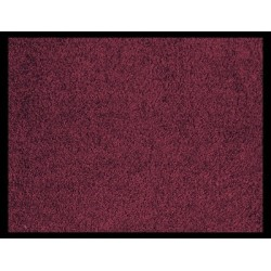TAPIS 90x150 CM ABSORBANTS BORDEAUX