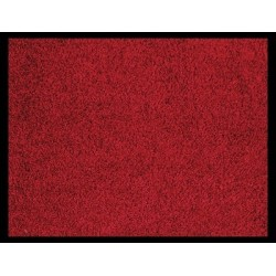 TAPIS 90x150 CM ABSORBANTS ROUGE