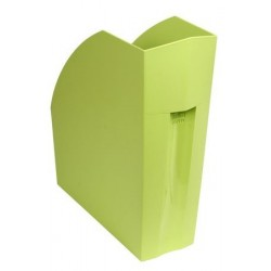 PORTES-REVUES FOREVER PP RECYCLE DOS 11 CM A4+  VERT ANIS 180102D