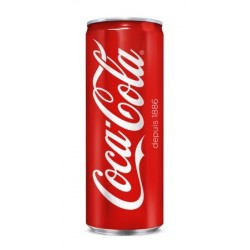 SODA COCA COLA SLIM 33CL pack/24 CANETTES
