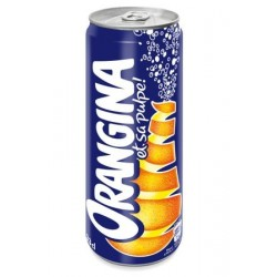 SODA ORANGINA SLIM 33CL pack/24 CANETTES