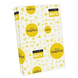 PAPIER A3 170G COMMUNICATION LISSE BLANC TEXT & GRAPHICS CIE-170 LA RAMETTE DE 250F.