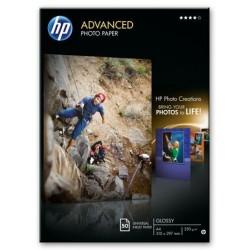 PAPIER PHOTO LASER HP Q6550A A4 200G MAT RECTO-VERSO 100 FEUILLES