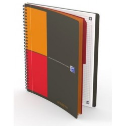 CAHIER OXFORD ACTIVEBOOK CONNECT FORMAT B5 160P 80G 5x5 400080786