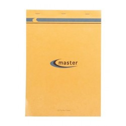 BLOC NOTES MASTER A4 21x29,7 70G 5x5 PETITS CARREAUX