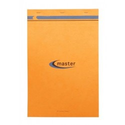 BLOC NOTES MASTER A4+ 21x31,5 70G 5x5 PETITS CARREAUX