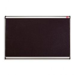 TABLEAU D'AFFICHAGE MOUSSE NOIRE PRESTIGE 900x600MM