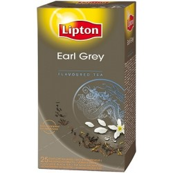 THE LIPTON EARL GREY 25 SACHETS FRAICHEUR