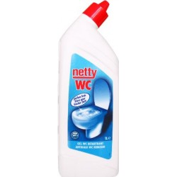 GEL DETARTRANT WC GEL NETTY   FLACON DE 1L CW10