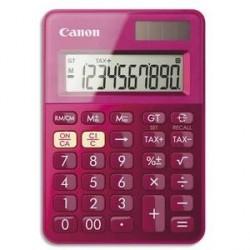 CALCULATRICE DE POCHE CANON LS-100K ROSE 10 CHIFFRES SOLAIRE ET PILE