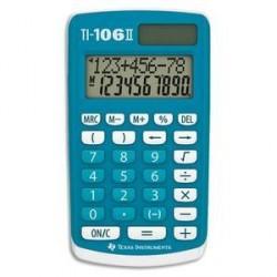 CALCULATRICE PRIMAIRE TEXAS INTRUMENT TI-106 II BLEUE