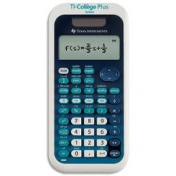 CALCULATRICE SCIENTIFIQUE TEXAS INSTRUMENT TI COLLEGE PLUS