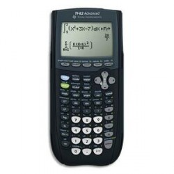 CALCULATRICE GRAPHIQUE MODE EXAMEN TEXAS INSTRUMENT TI 82 ADVANCED
