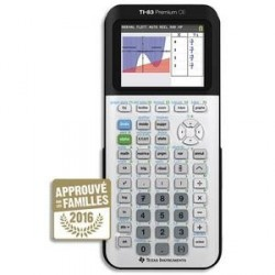 CALCULATRICE SCIENTIFQUE MODE EXAM TEXAS INSTRUMENT TI-83 PREMIUM CE