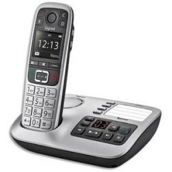 TÉLÉPHONE SANS FIL GIGASET + RÉPONDEUR E560A SILVER SOLO