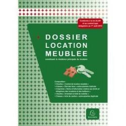 DOSSIER COMPLET CONTRATS DE LOCATION MEUBLÉE EXACOMPTA 49E