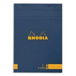 BLOC DE BUREAU RHODIA COLOR A5 140 pages LIGNÉ SAPHIR
