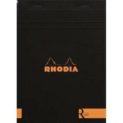 BLOC DE BUREAU RHODIA COLOR A5 140 pages LIGNÉ NOIR