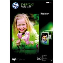 PAPIER PHOTO HP EVERYDAY J.E BRILLANT 10X15 200g CR757A P/100