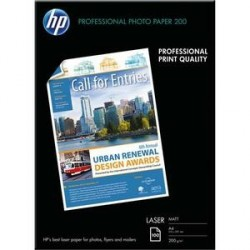 PAPIER PHOTO HP PROFESSIONNEL LASER MAT 120G A4 Q6550A P/100