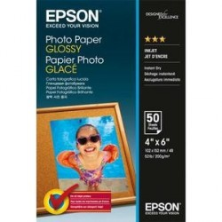 PAPIER PHOTO EPSON J.E BRILLANT 10X15 200g 3S042547 B/50