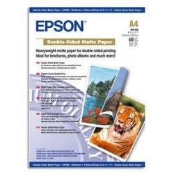PAPIER PHOTO EPSON J.E MAT DOUBLE FACE A4 178g C13S041569 B/50