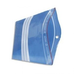 SACS FERMETURE PRESSION BANDE 60µ 23X32cm B/1000