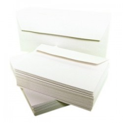 ENVELOPPES 110x220 80G BOITE 500 FOREVER BLANCHES 65945C