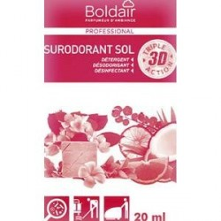 B/50 DOSETTES SURODORANTES BOLDAIT 3D DÉLICES FRUITS ROUGES