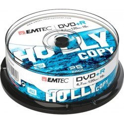 DVD+R 4,7GB 16X SPINDLE (25)