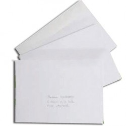 ENVELOPPES 162x229 90G BOITE 500 FOREVER BLANCHES